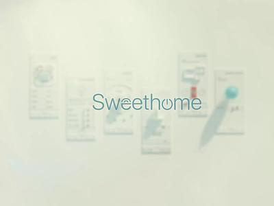 Vintage Smart Home Application Commercial sound design sound production c4d branding motion graphics graphic design 3d animation