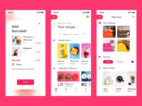 Take-out app design 2