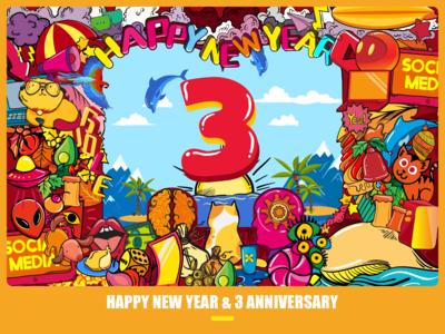 The third anniversary of company