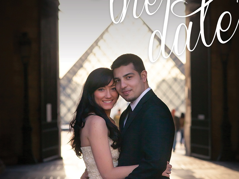 Save The Date, Variation save the date wedding