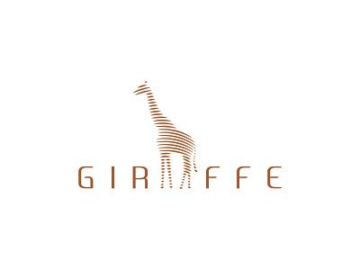 GIRAFEE LINE ART girafee apparel girafee tsirt girafee line art girafee design girafee logo