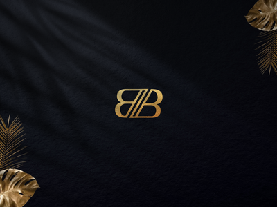 B + B MONOGRAM DESIGN vector typography icon design graphic design branding bb initial logo bb monogram bb logo