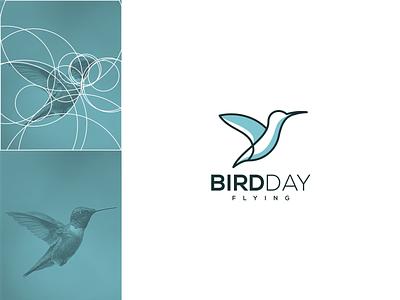 BirdDay vector branding icon graphic design design logo typography bird apparel bird design bird logo bird line art