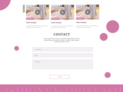 #DailyUI 028 Contact Us - Get in touch landingpage website web app send get challenge dailyui design adobe contact