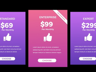 #DailyUI 030 Pricing graphic design design ux uiux ui adobe website web table pricingtable dailyui030 dailyui challeng pricing