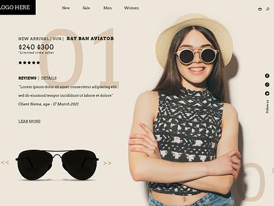 #DailyUI 039 Testimonials/Reviews testimonials dailyui website web design adobe graphic design ui