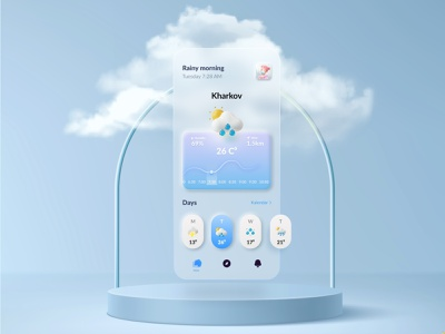 Weather app materialdesign amazing design appdesign design inspiration appdesigner dribbble best shot weathered weather forecast weather app weather