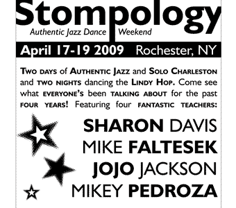 Stompology 2009 postcard stompology postcard old