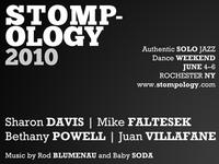 Stompology 2010 postcard (BW)