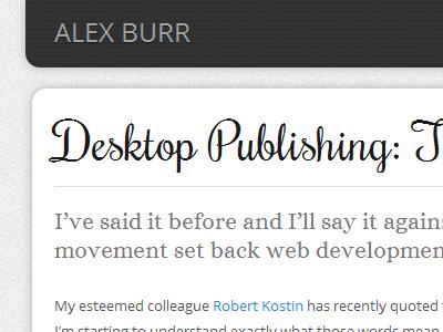 Blog Close-up