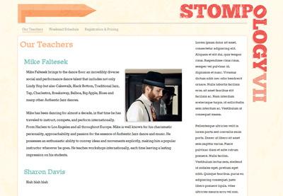 Website (WIP) wip stompology