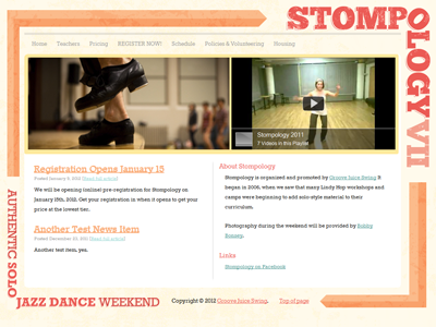 Website (Near Complete) stompology