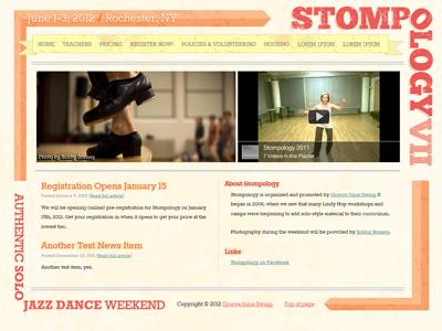 Website (Complete) stompology website