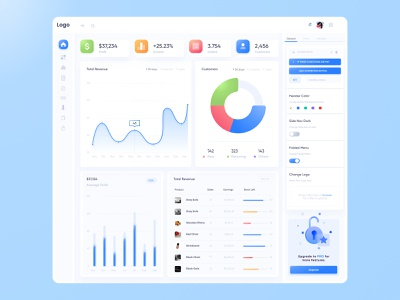 Shop dashboard web website statistics design ux ui app interface minimal