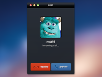 Incoming Call UI