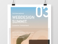 Event Poster - Webdesign Summit