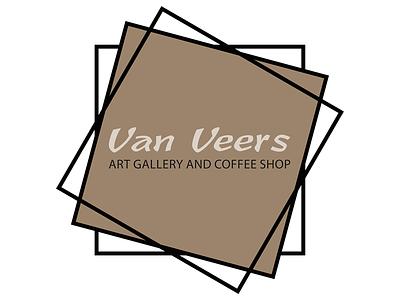 Van Veers Logo and Branding madebyderprinz display poster branding logo
