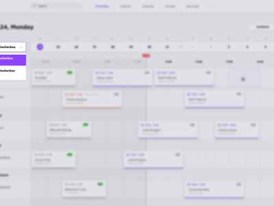 Beauty Point Dashboard source sketch dashboard salon beauty admin crm ux ui interface