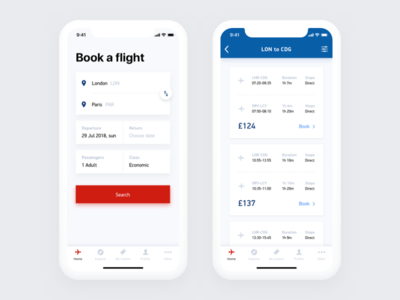 Airlines app