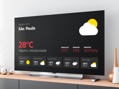 Weather App for Apple TV