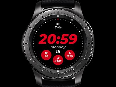 Watchface update watchface smartwatch design ui