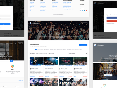 Design Concept for Local Business and Professionals website design ux ui