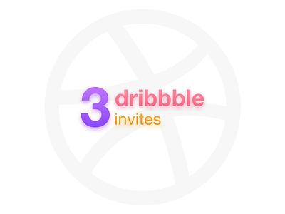 Dribbble invites dribbble invite invites giveaway invites dribblers