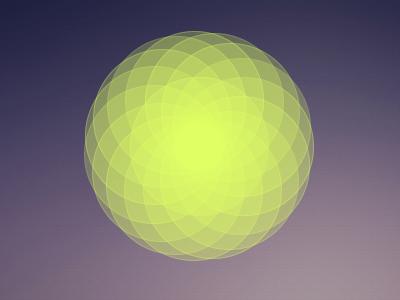 Flowerized Click processing algorithmic design trigonometry generative digital flower interactive ball abstract
