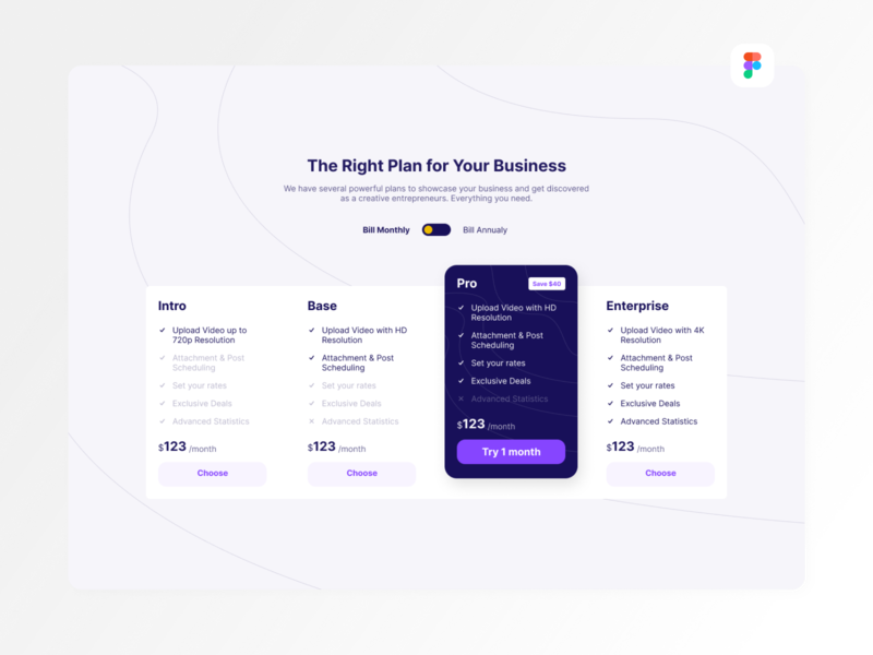 Pricing Desktop Exploration (Free Figma Files) landing page feature trial book rent cost web design desktop app ux ui accordion table comparison price pricing light modern clean desktop figma