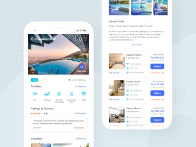 Travy App Hotel Details