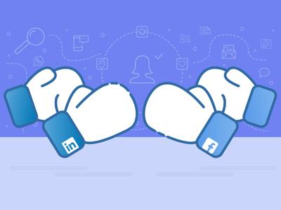Facebook V Linkedin