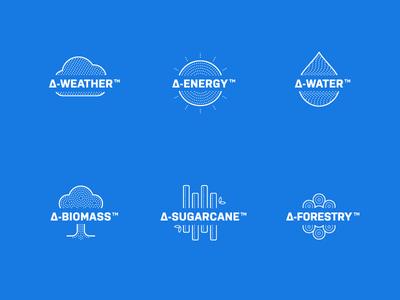 Space Time Analytics Platform Icons