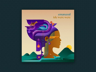 "Cover design for Emanazul single ""Ide Were Were"""