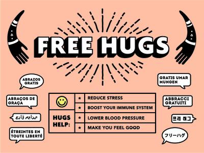 Free Hugs guys