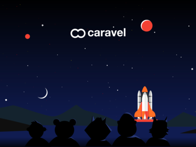 Caravel new landing page