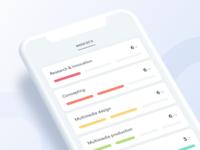 Progress app | detailed list items
