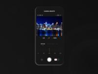 UI exploration | Camera remote