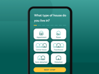 Energy saving app | onboarding