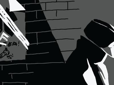 Noir Comic Style