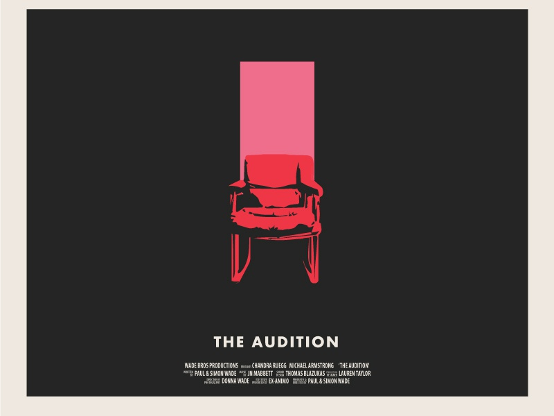 The Audition Poster Concept by Luke Murphy on Dribbble