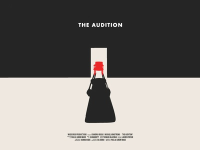 The Audition Poster Concept