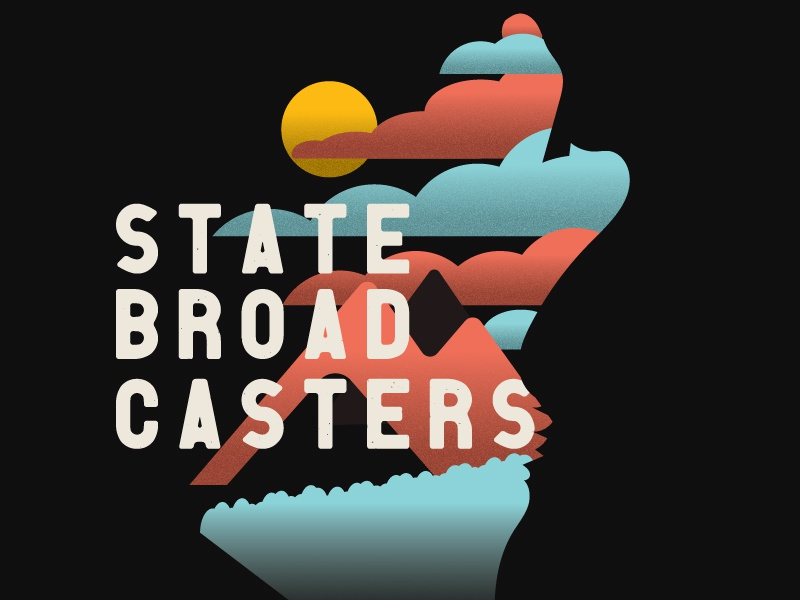State dribbble
