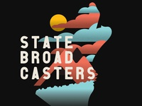 State Broadcasters Gig Poster