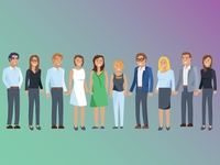 Agency People Illustration