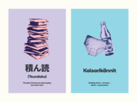Tsundoku & Kalskarikännit