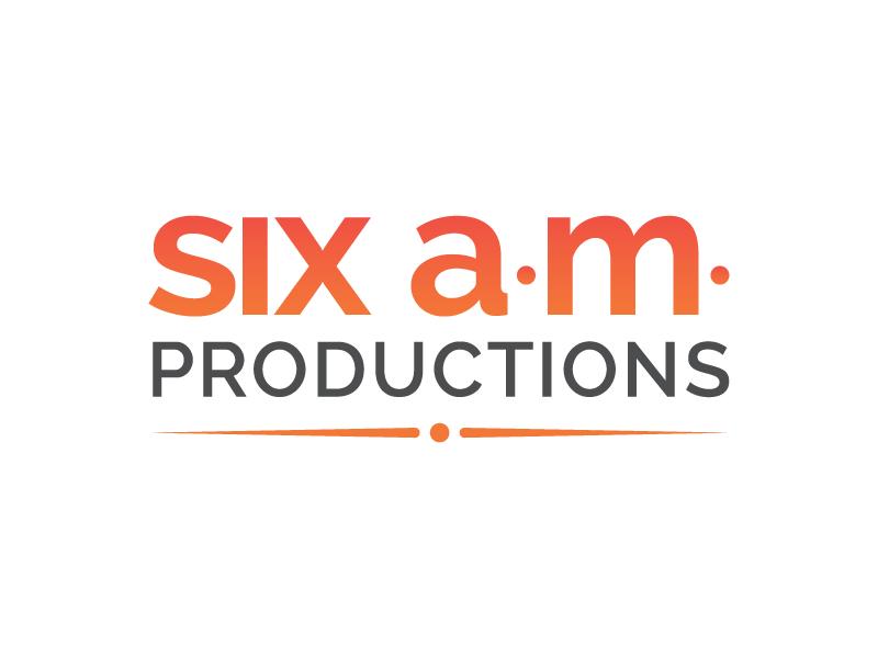 Six a.m. Productions: Logo + Branding logo branding startup video