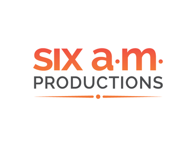Six a.m. Productions: Logo + Branding logo branding startup video