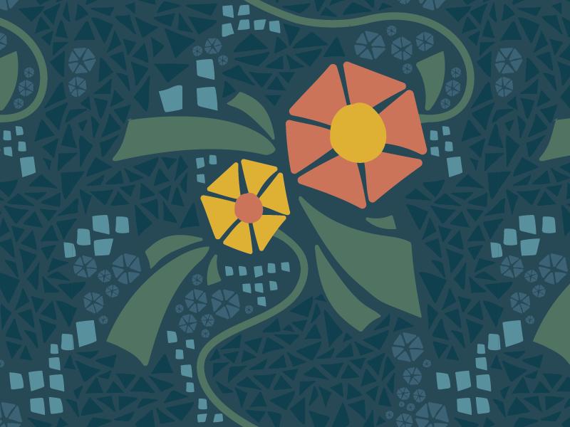 Flower Pattern // Closer Look funky detail pattern flower
