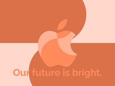 Apple Event Cover Concept logo illustration vector design figma