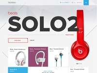 Headphones Store Page